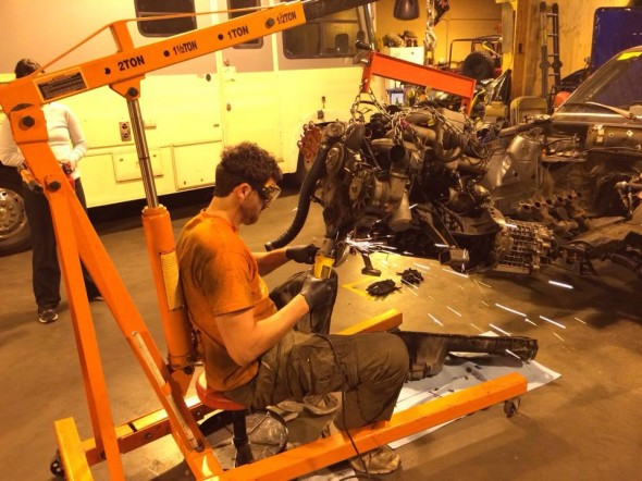 Andrew_Stiegmann_grinding_on_engine