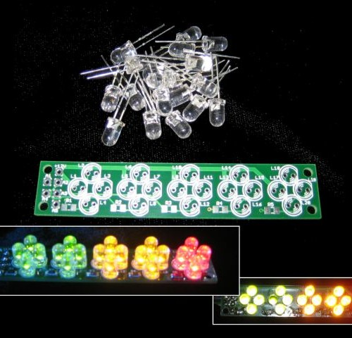 sequential led cluster