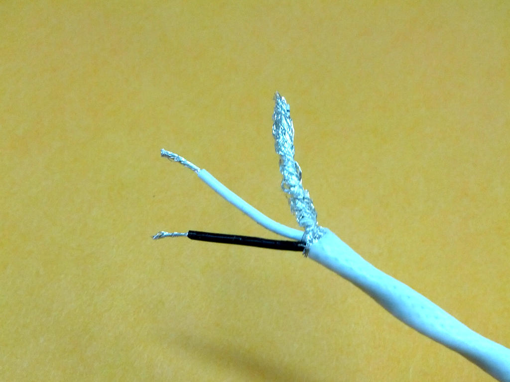 Milspec twin conductor shielded cable | Autosport Labs