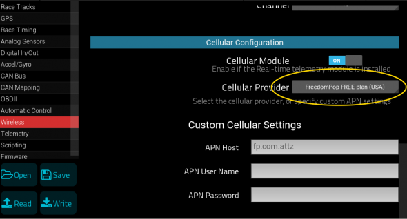 racecapture_freedompop_wireless_configuration