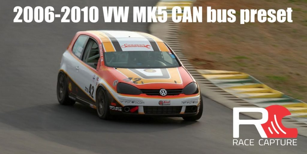 2006-2010 VW MK5 CAN bus preset now available